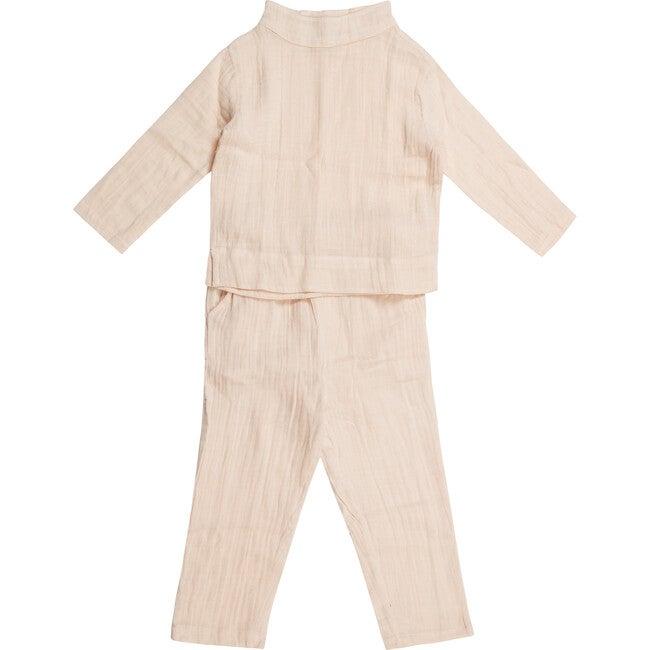 Lea Pajama Set, Crystal Pink