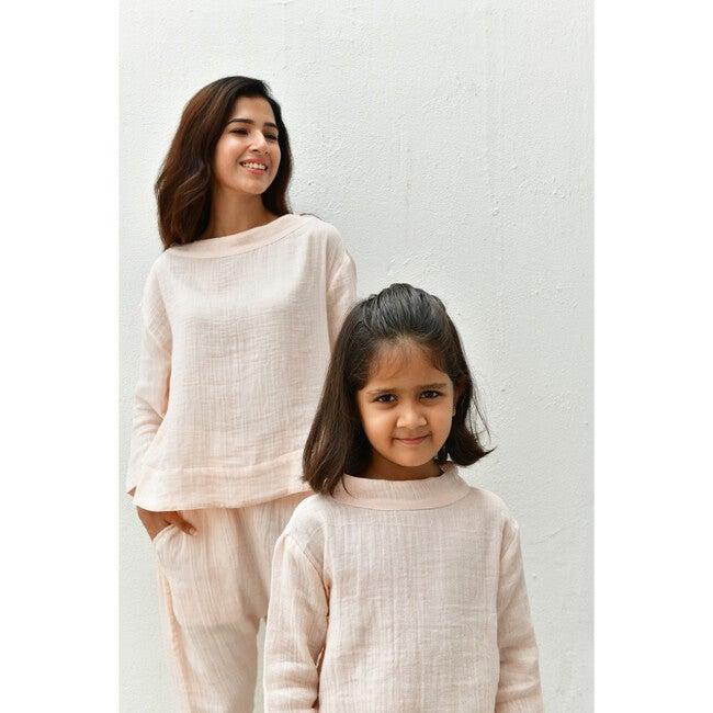 Women's Lea Pajama Set, Crystal Pink