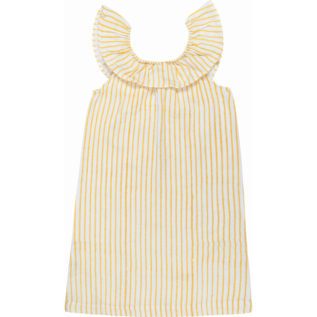 Charlotte Nightdress, Yellow Stripes