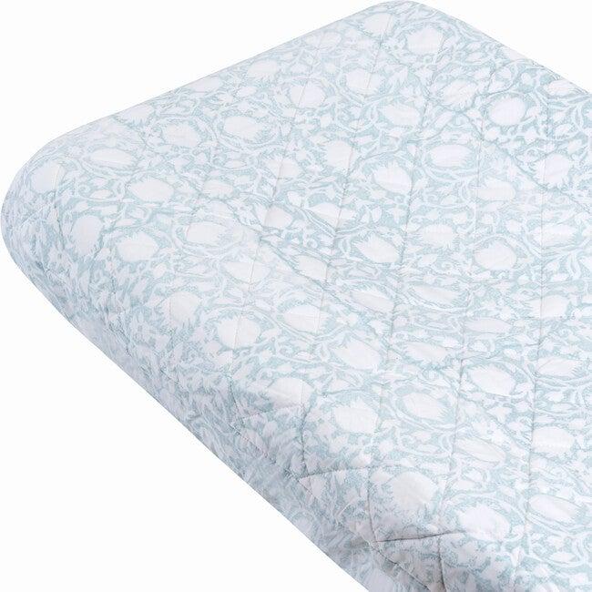 Thalia Changing Pad Cover, Seaglass