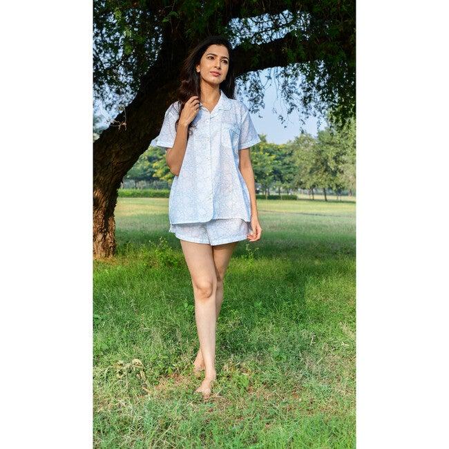 Women's Thalia Pajama Set, Seaglass