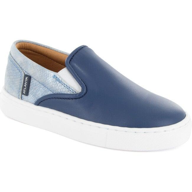 Slip On Sneaker, Ocean Leather
