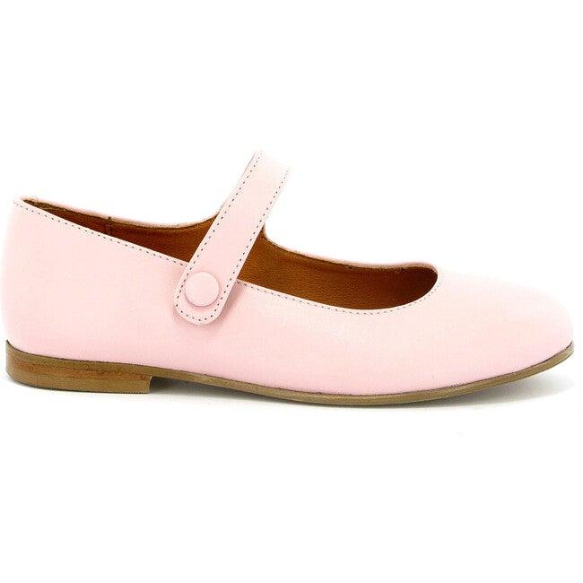 Leather Mary Jane Ballerinas, Pink