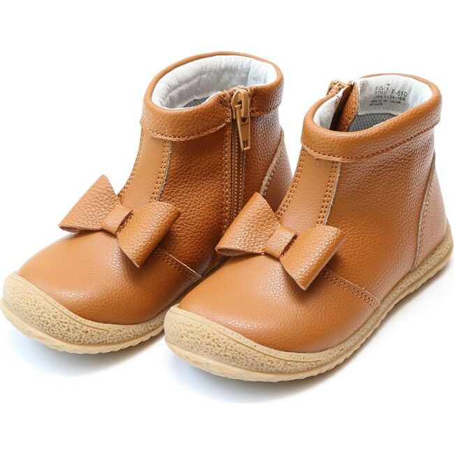 Hilary Bow Boot, Mustard