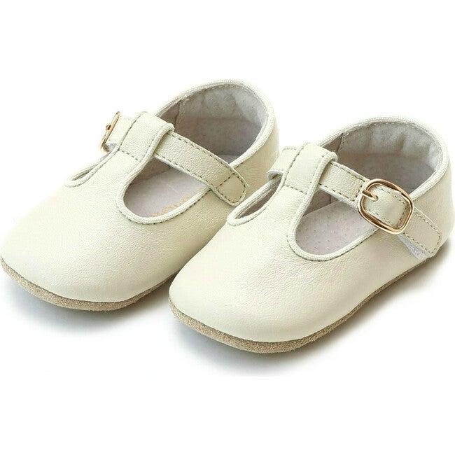 Baby Evie T-Strap Mary Jane, Beige