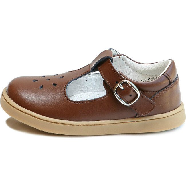 Chelsea T-Strap Mary Jane, Brown