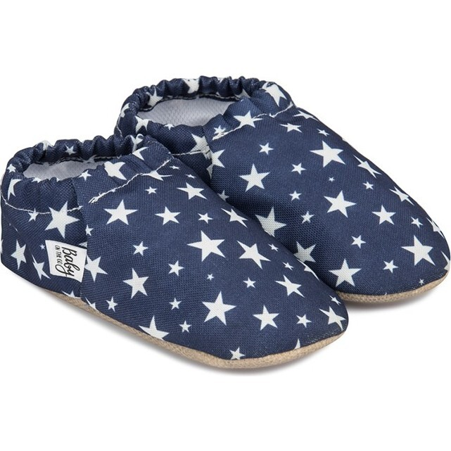 First Steps Slip-On, Navy Stars