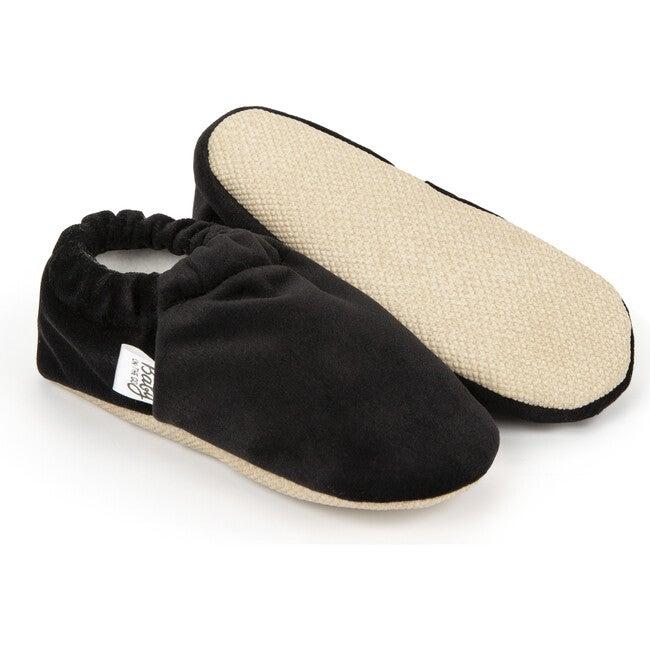 First Steps Slip-On, Black Velvet