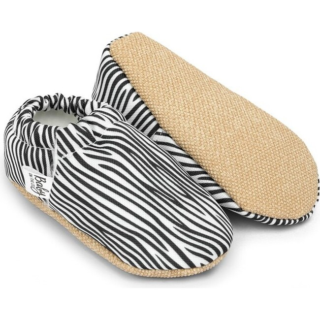 First Steps Slip-On, Zebra