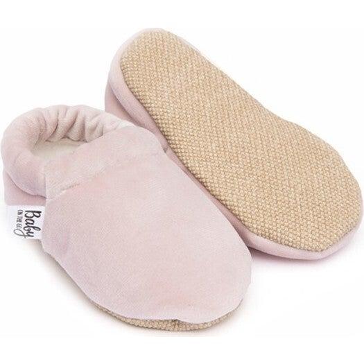 First Steps Slip-On, Pink Velvet