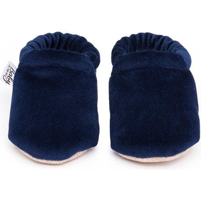 First Steps Slip-On, Blue Velvet