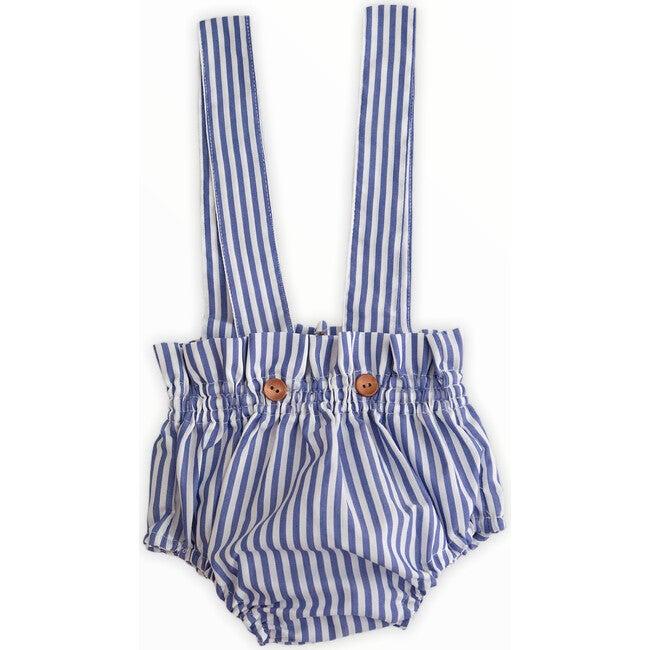 Blue Stripes Overalls