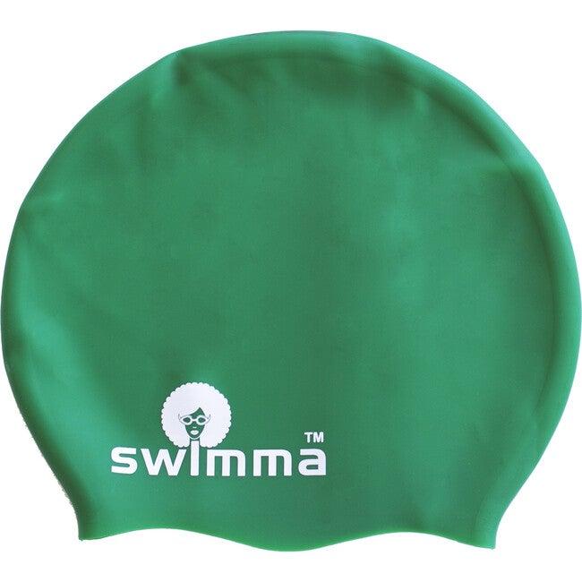 Afro-kids MIDI Swimcap, Green