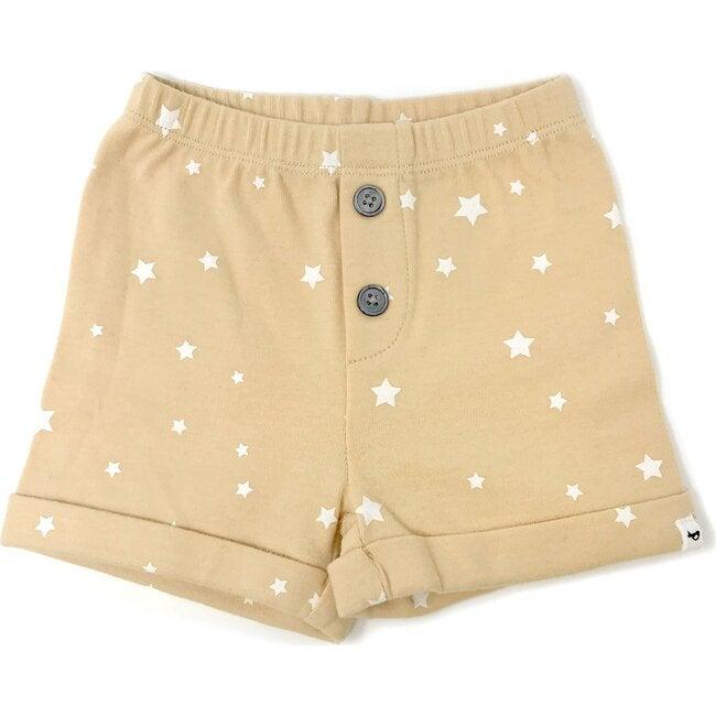 Noah Shorts - White Mini Stars - Honey