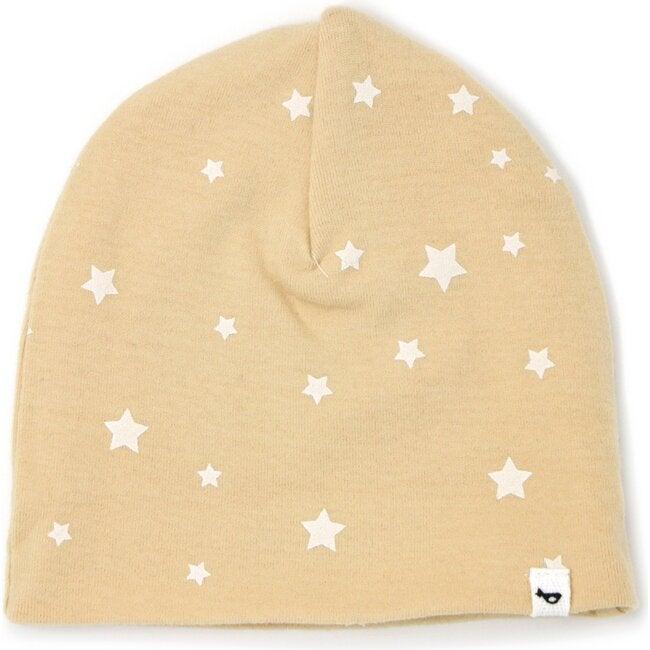 Cotton Infant Hat - Mini Stars White - Honey
