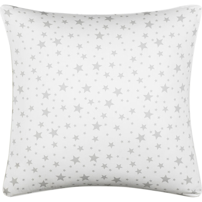 Jr. Decorative Pillow, Grey Star