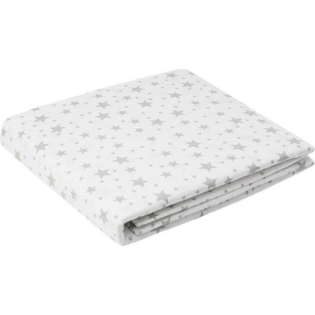 Jr. Crib Sheet, Grey Star