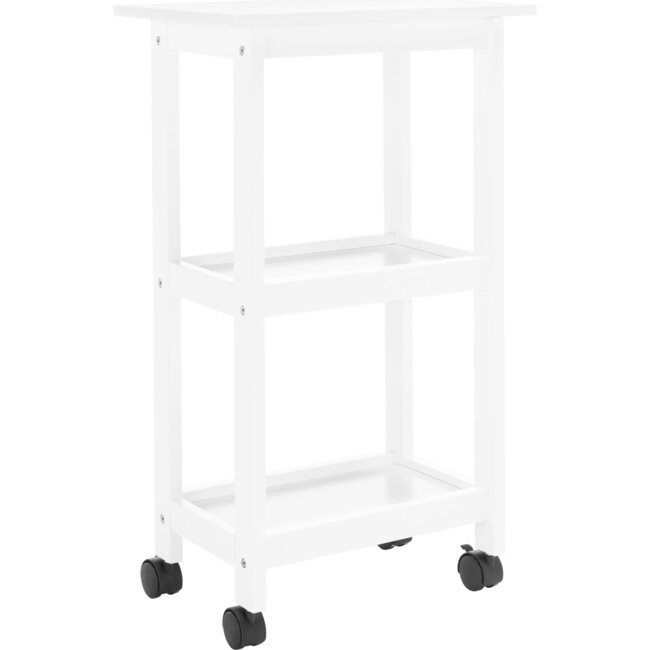 Bevin Kitchen Cart, White