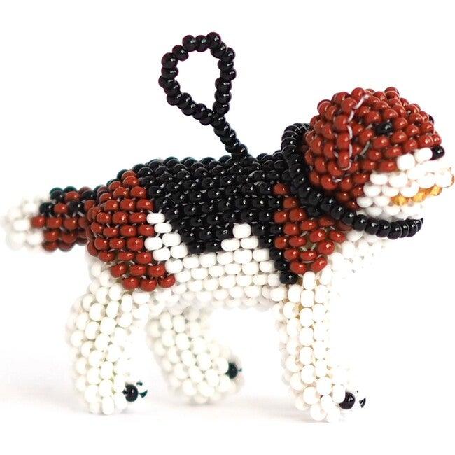 Beaded Beagle Ornament