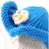 Bunny with Blue Sun Hat - Accents - 3