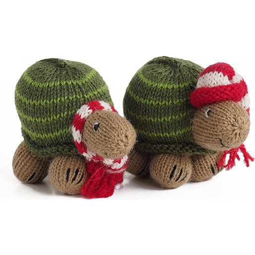 Turtle Ornaments, Set of 2