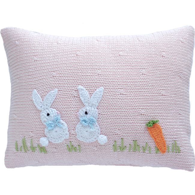 Baby Bunny Pillow, Pink