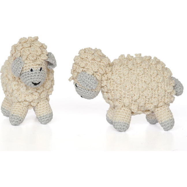 Little Crochet Sheep, Ecru
