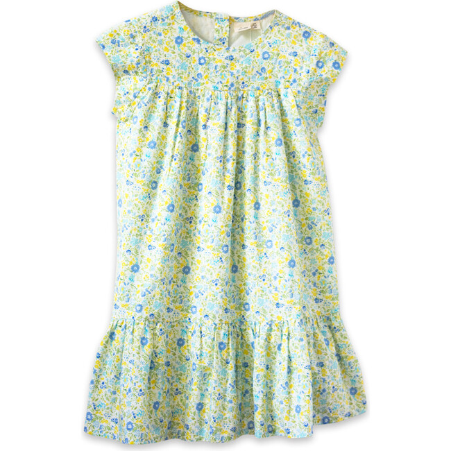 Molly Dress, Yellow Floral