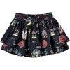 Festive Fair Skirt, Navy - Skirts - 1 - thumbnail