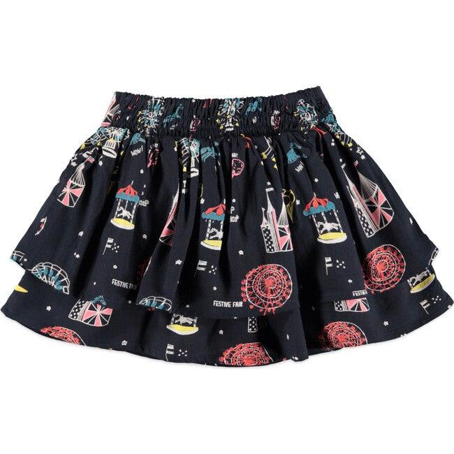 Festive Fair Skirt, Navy