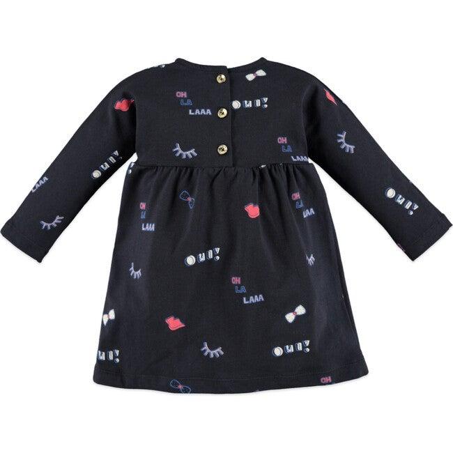 Oh La Laa Dress, Navy