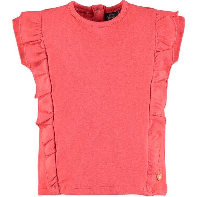 Ruffle Top, Pink