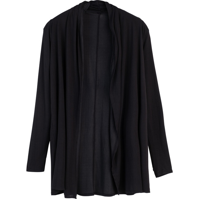 Women's Whipped Wrap Cardigan, Black