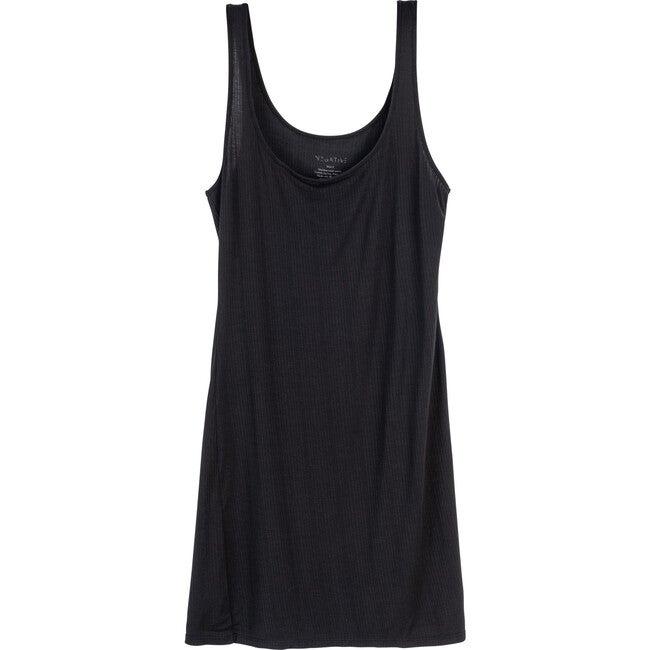 Women's Whipped Slip Dress, Black