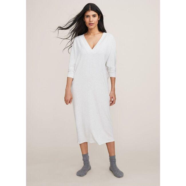 The Women's Visitor Dress, Oat Melange