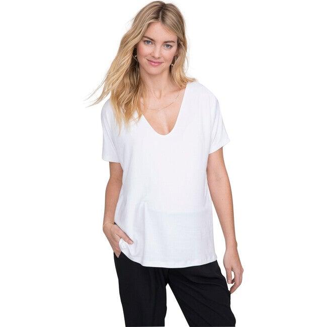 The Women's Perfect Vee, White