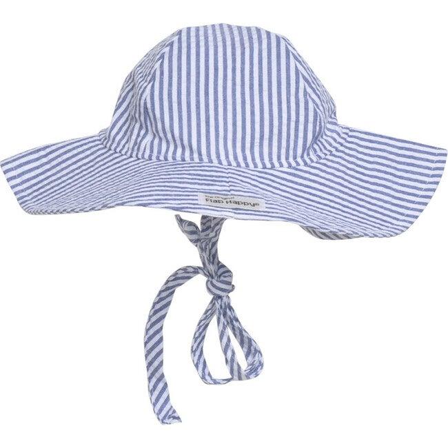 Floppy Hat 2 Pack, Chambray & Chambray Stripe Seersucker