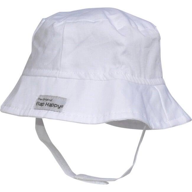UPF 50+ Bucket Hat, White - Hats - 1