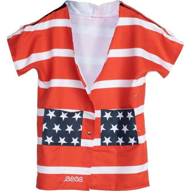 Adult GoGo Towel, American Flag