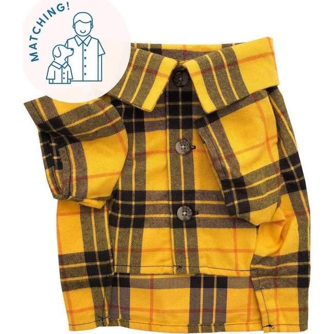 Dog Campfire Flannel