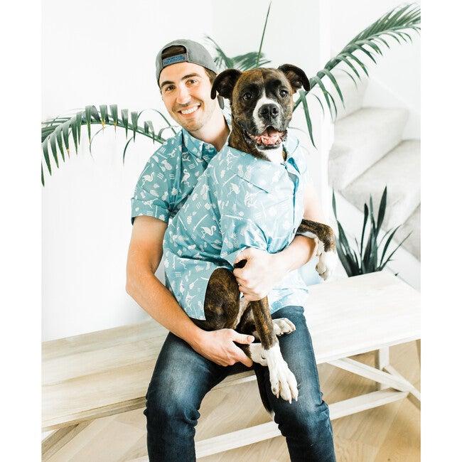 Dog Tiki Time BBQ Shirt