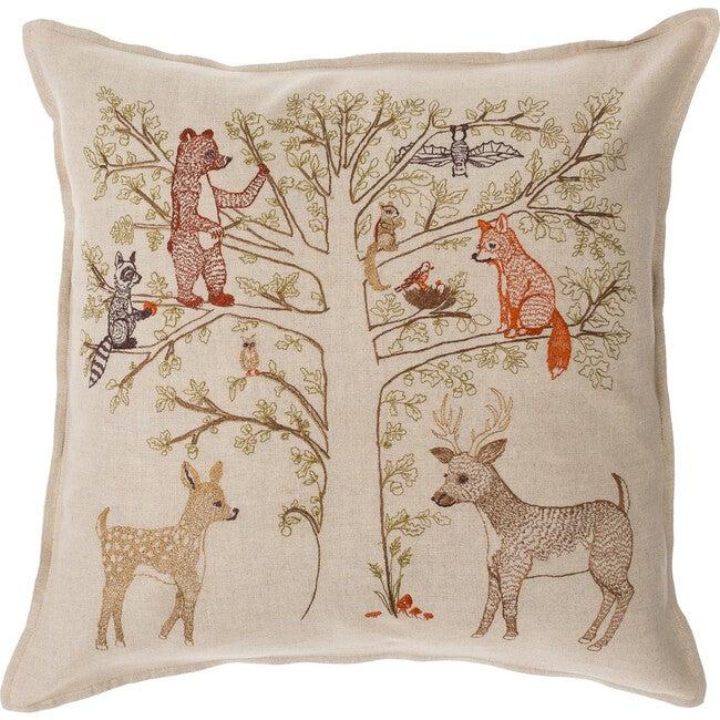 Woodland Living Tree Pillow