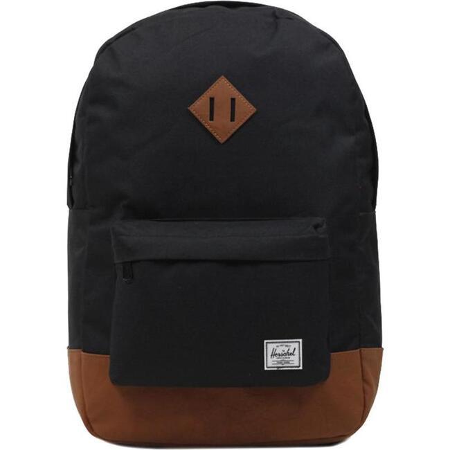 Heritage Tan Backpack, Black