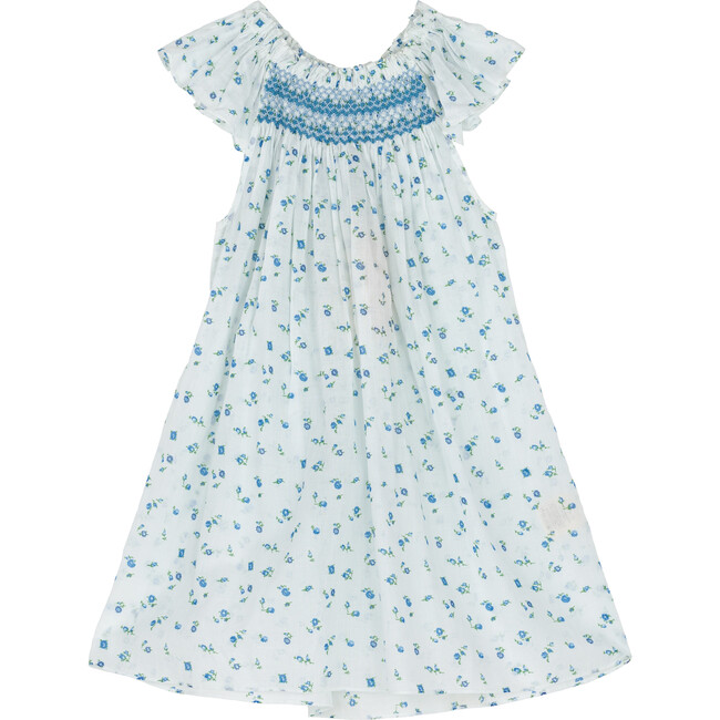 Abbott Dress, Blue Sweatpea