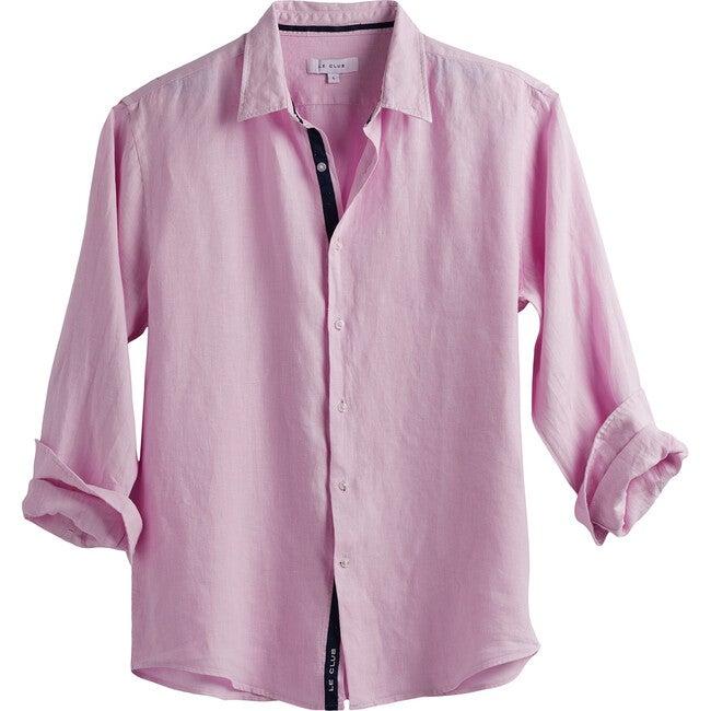 Men's Peter Linen Shirt, Pink