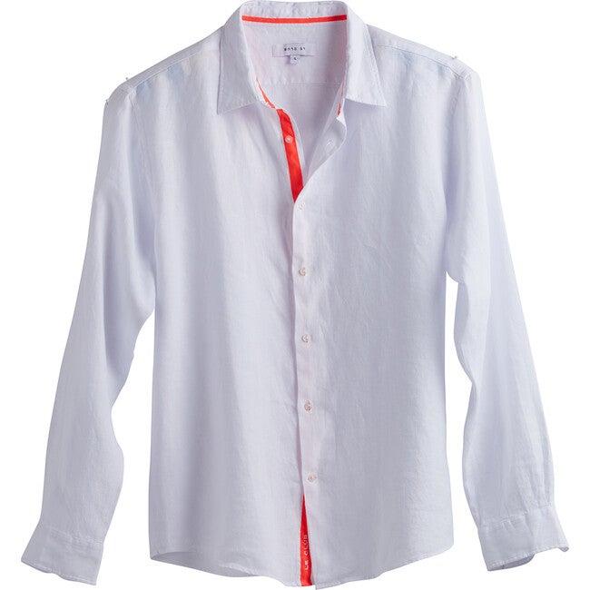 Men's Peter Linen Shirt, White