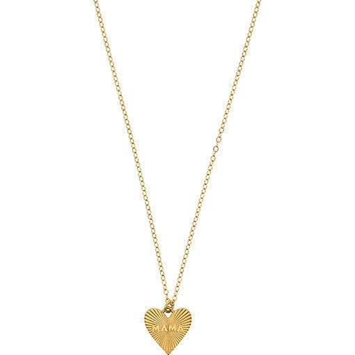 Dainty Heart MAMA Necklace