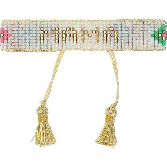 Chevron Rainbow MAMA Bracelet