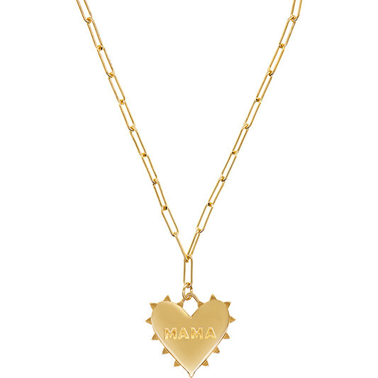 """18"""" Radiant Heart MAMA Necklace"""
