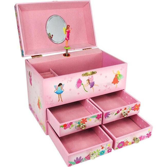 My Fairytale Medium Music Box, Pale Pink